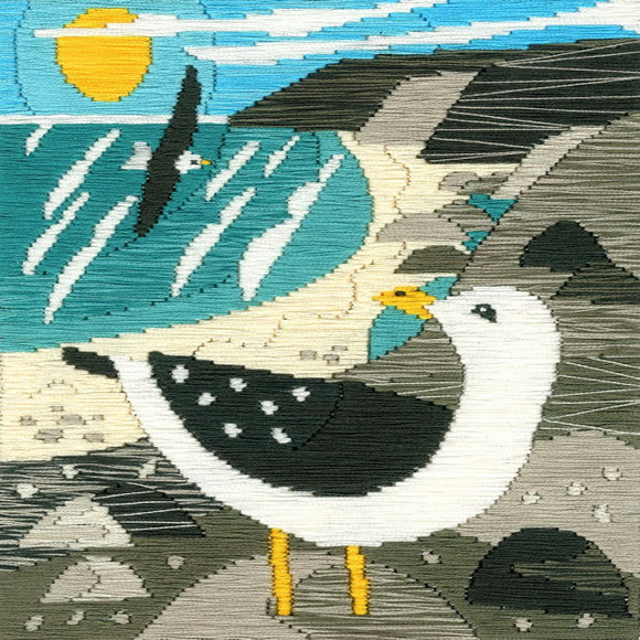 Seagulls Long Stitch Kit by Bothy Threads