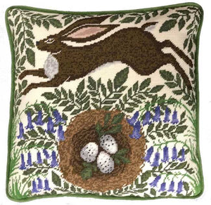 Spring Hare Tapestry Cushion Kit By Bothy Threads