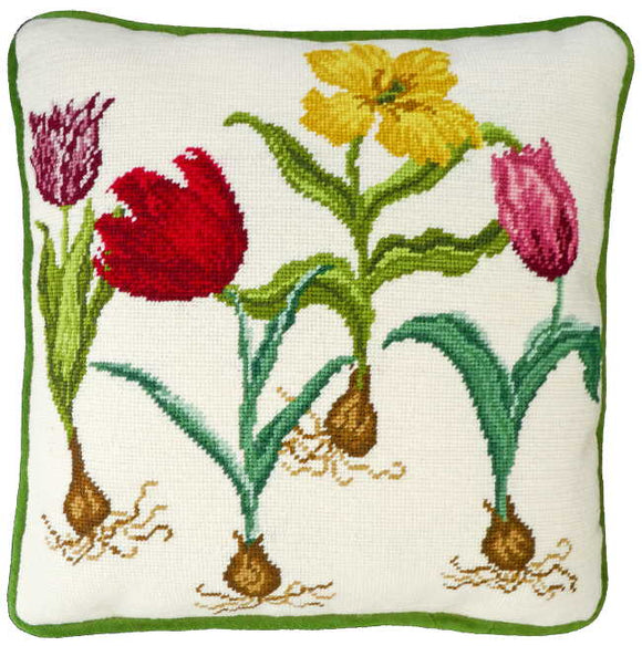 Tulips Tapestry Cushion Kit By Bothy Threads
