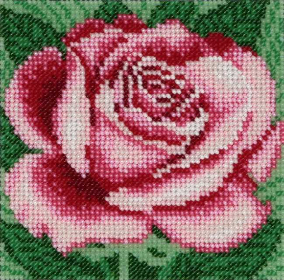 Rose Bead Embroidery Kit by VDV