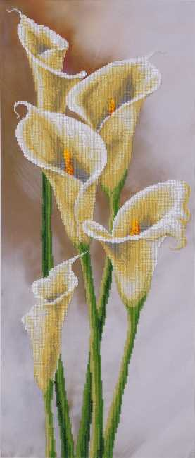 Calla Lilies Bead Embroidery Kit by VDV