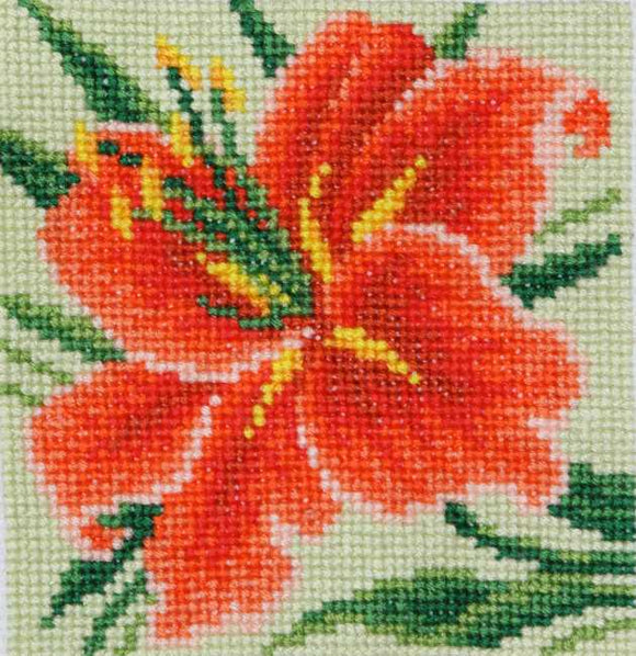Lily Bead Embroidery Kit by VDV