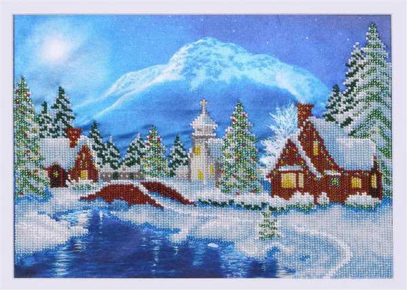Carpathian Night Bead Embroidery Kit by VDV