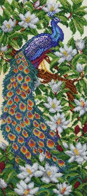 Garden of Eden Bead Embroidery Kit by VDV