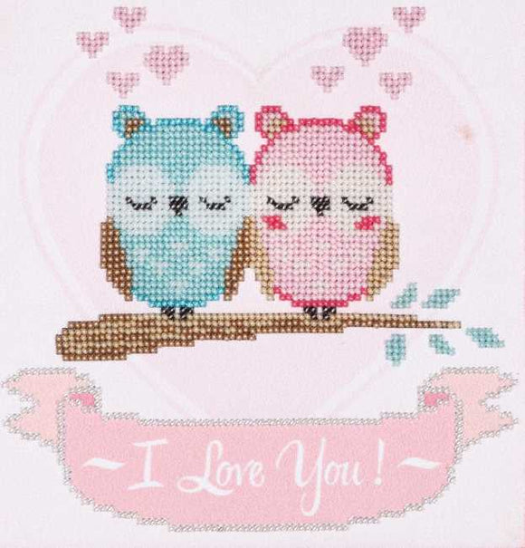 I Love You Bead Embroidery Kit by VDV