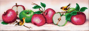 Apple Boom Bead Embroidery Kit by VDV