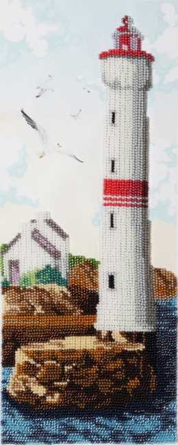 Lighthouse of Hope Bead Embroidery Kit by VDV