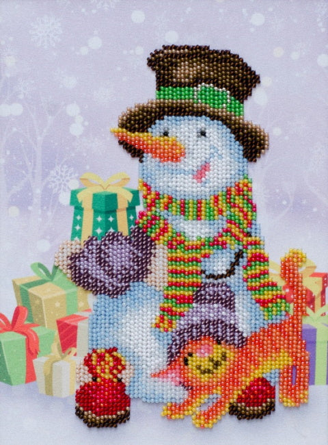 Gifts for the Holidays Bead Embroidery Kit by VDV