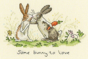 Some Bunny to Love Cross Stitch Kit By Bothy Threads