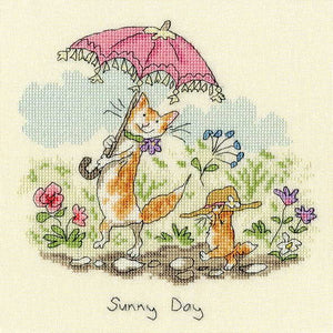Sunny Day Cross Stitch Kit By Bothy Threads