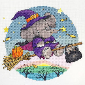 Hallow Elly Cross Stitch Kit By Bothy Threads