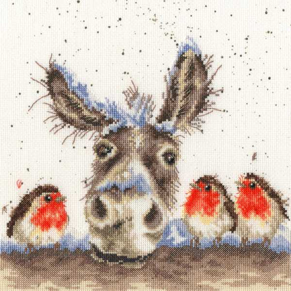 Christmas Donkey Cross Stitch Kit By Bothy Threads