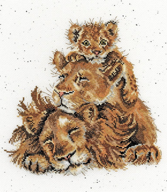 Family Pride Cross Stitch Kit By Bothy Threads