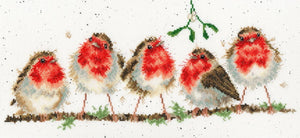 Rockin' Robins Cross Stitch Kit By Bothy Threads