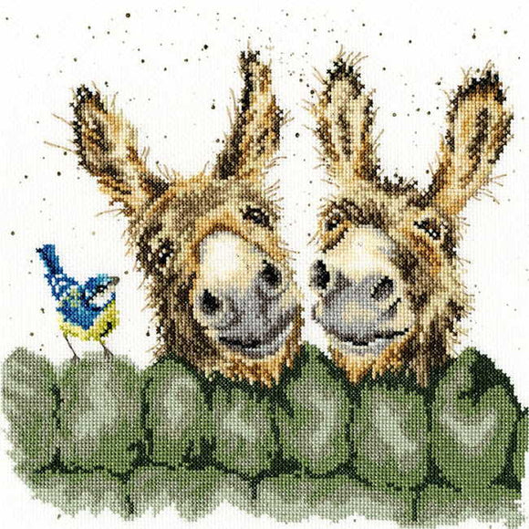 Hee Haw Cross Stitch Kit By Bothy Threads