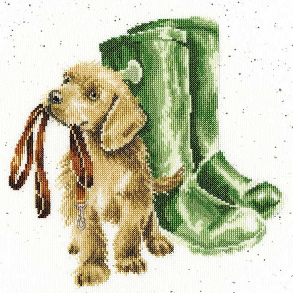 Hopeful Cross Stitch Kit By Bothy Threads