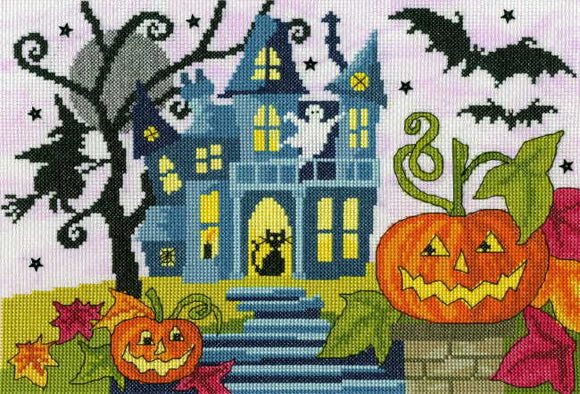 Spooky Cross Stitch Kit By Bothy Threads