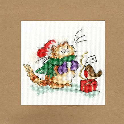 Just For Love Cross Stitch Christmas Card Kit by Bothy Threads