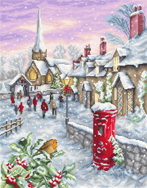 Christmas Eve Cross Stitch Kit by Luca S