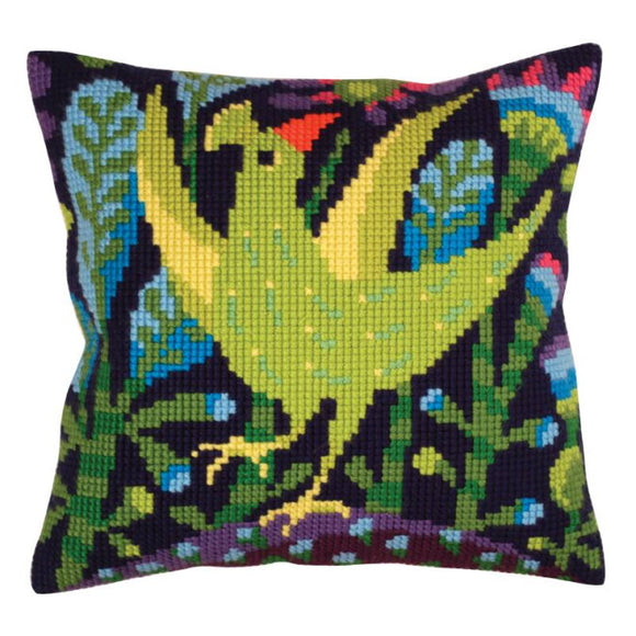 Serenade Printed Cross Stitch Cushion Kit by Collection D'Art