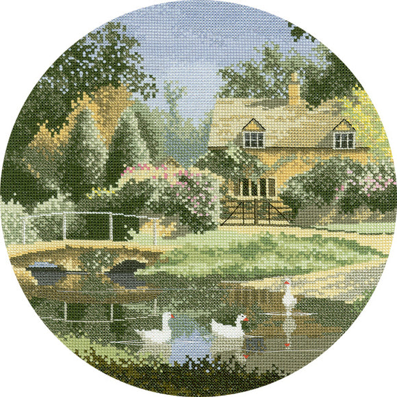 Ford Way Cross Stitch Kit by Heritage Crafts