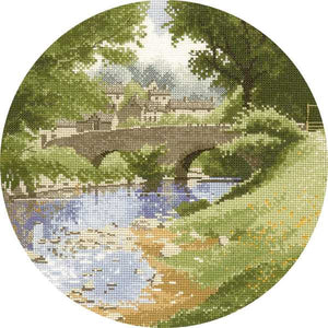 Riverside Cross Stitch Kit by Heritage Crafts