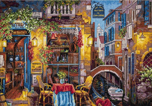 Special Place in Venice Cross Stitch Kit by Merejka