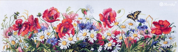 Field Beauties Cross Stitch Kit by Merejka