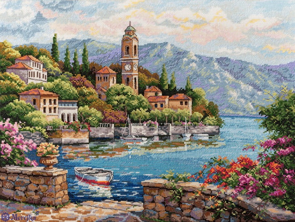 Lago Di Como Cross Stitch Kit by Merejka
