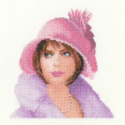 Harriet Cross Stitch Kit by Heritage Crafts