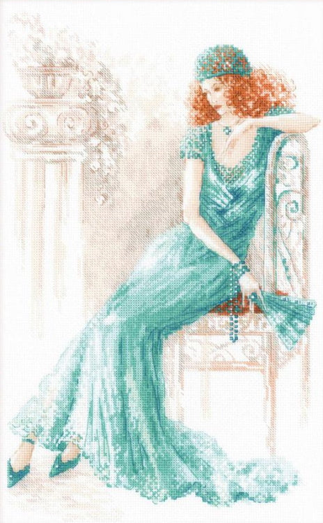 Old Hollywood Cross Stitch Kit By RIOLIS