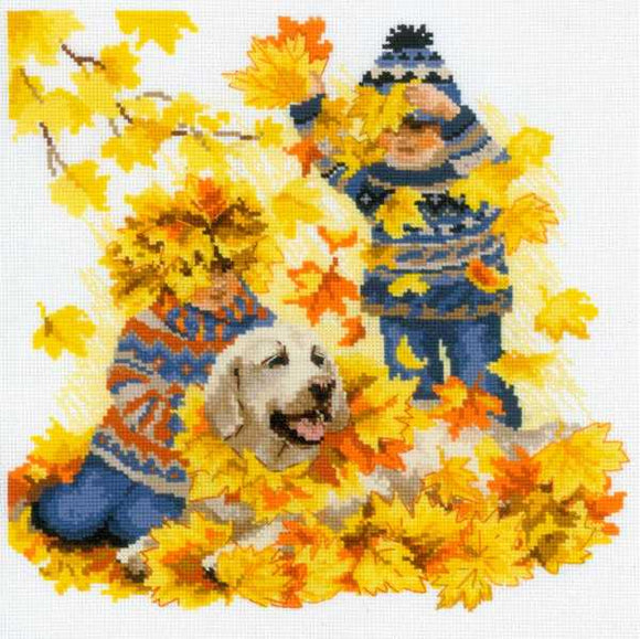 Autumn Holidays Cross Stitch Kit By RIOLIS