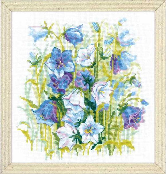 Carpathian Bells Cross Stitch Kit By RIOLIS