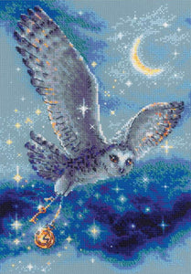 Magic Owl Cross Stitch Kit By RIOLIS