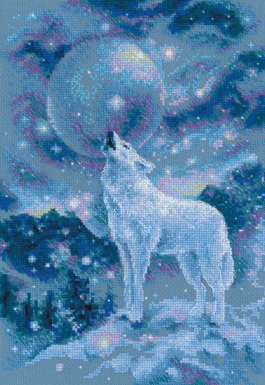 Ice Cold Wind Cross Stitch Kit By RIOLIS