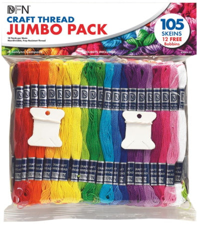 Jumbo Craft Thread Pack by Janlynn