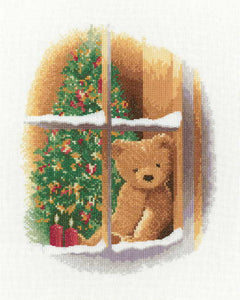William at Christmas Cross Stitch Kit by Heritage Crafts