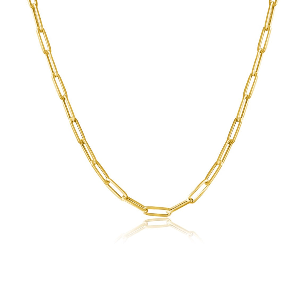 14KT Gold Medium Link Chain, NEW / Best Seller !