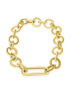 14KT Gold Armina Chain Bracelet, NEW