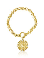 14KT Gold Diamond Contessa Charm Bracelet, NEW