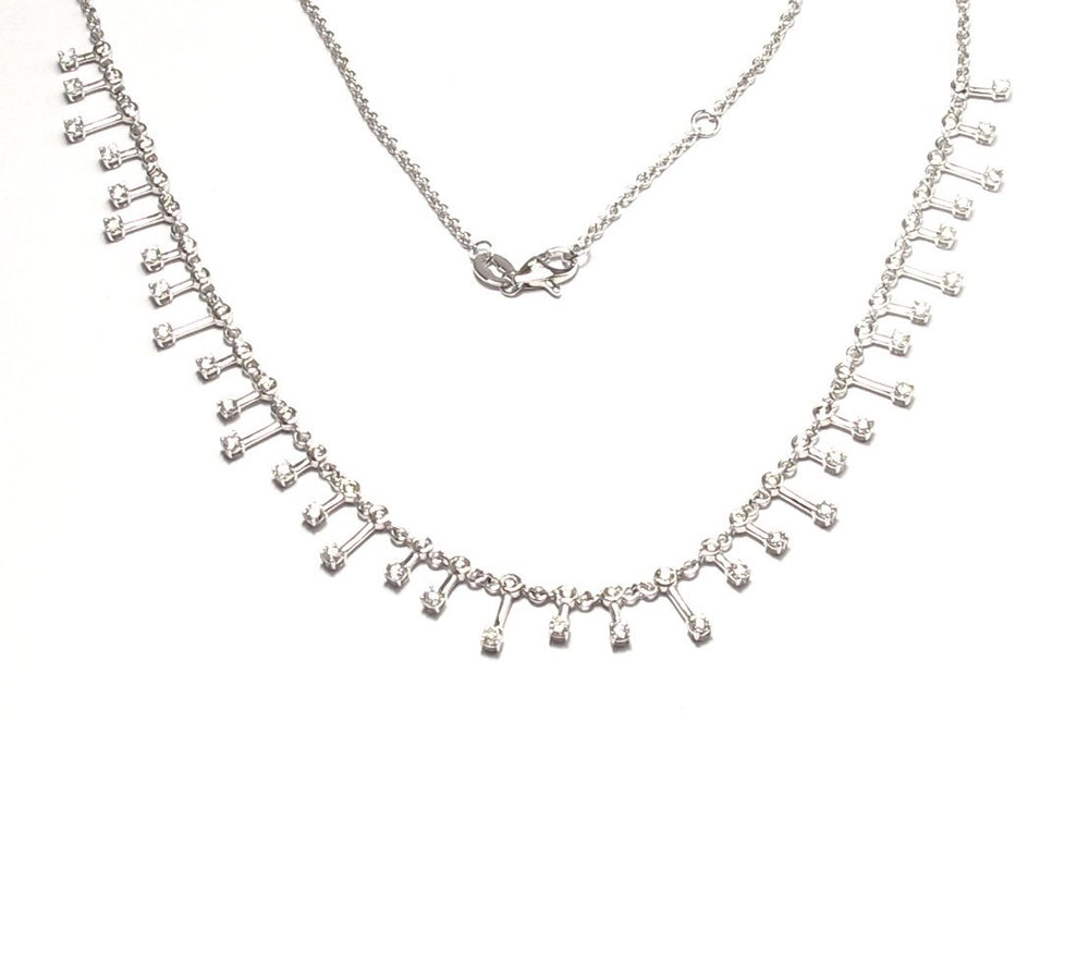 14KT Gold Diamond Clara Necklace