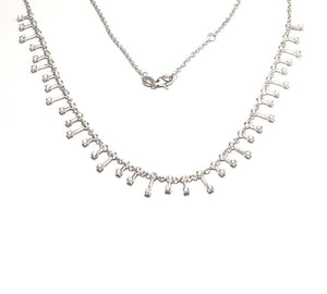 Load image into Gallery viewer, 14KT Gold Diamond Clara Necklace