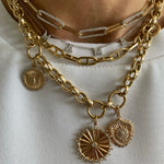 14KT Gold Aldina Chain Necklace, NEW