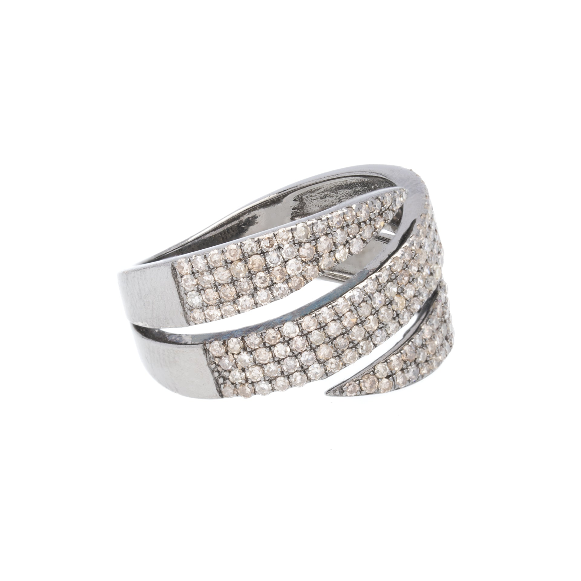 Bandeau Diamond Ring, SALE - DilaraSaatci