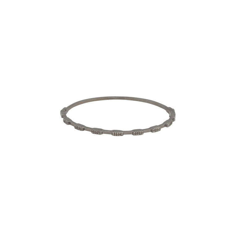 Diamond Multi Brick Bangle