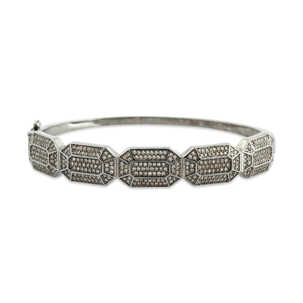 Diamond Octagon Bangle, NEW - DilaraSaatci