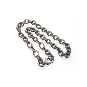 Chain With 5 Diamond Links - DilaraSaatci