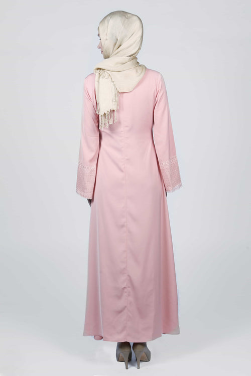I AM Pretty in Pink Abaya/Dress - Samimi