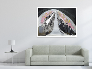 The Escalator - Full Size Limited Edition Print - Signed