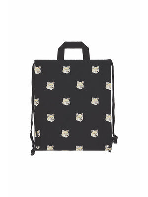 Tote Backpack Allover Fox